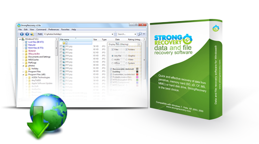Download StrongRecovery...
